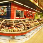 Крупный супермаркет